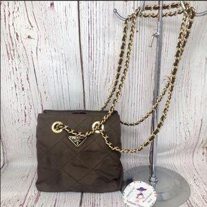 Prada Vintage Small Nylon Tote Bag
